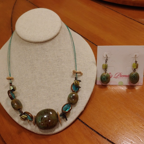 Stand Out Designs Jewelry : Premier designs jewelry set necklace earrings poshmark